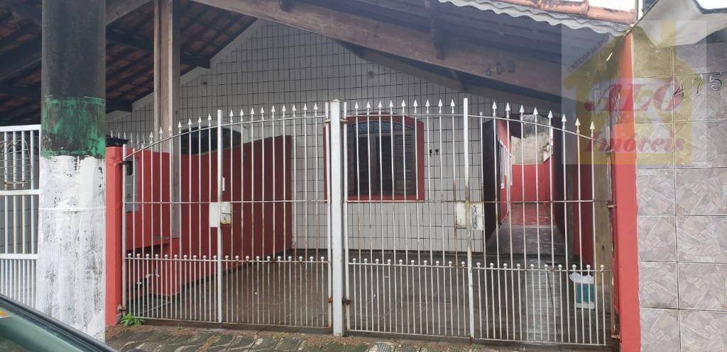 Casa com 2 dormitórios para alugar, 85 m² por R$ 1.200/mês - Tupi - Praia Grande/SP