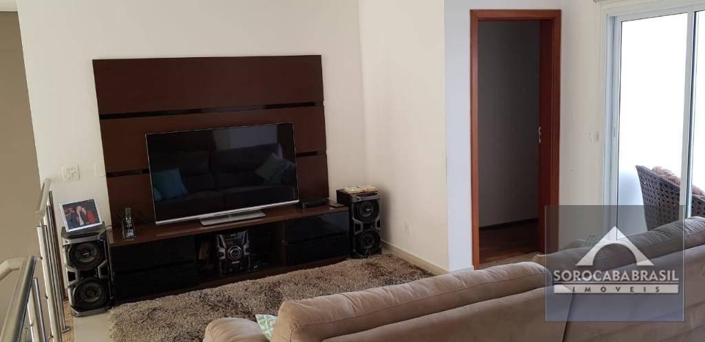 Sobrado com 4 dormitórios à venda, 288 m² por R$ 1.200.000 - Condomínio Residencial Aldeia da Mata - Votorantim/SP, próximo ao Shopping Iguatemi.
