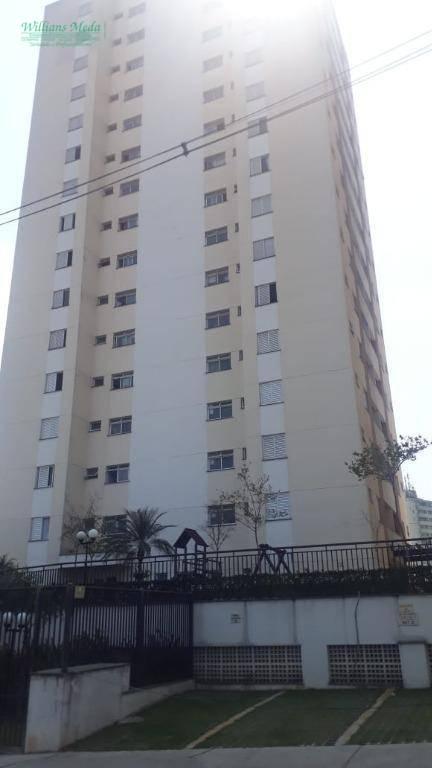 Apartamento com 2 dormitórios para alugar, 44 m² por R$ 1.600/mês - Jardim São Judas Tadeu - Guarulhos/SP
