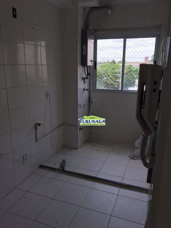 Apartamento com 2 dormitórios para alugar, 52 m² - Ponte Grande - Guarulhos/SP