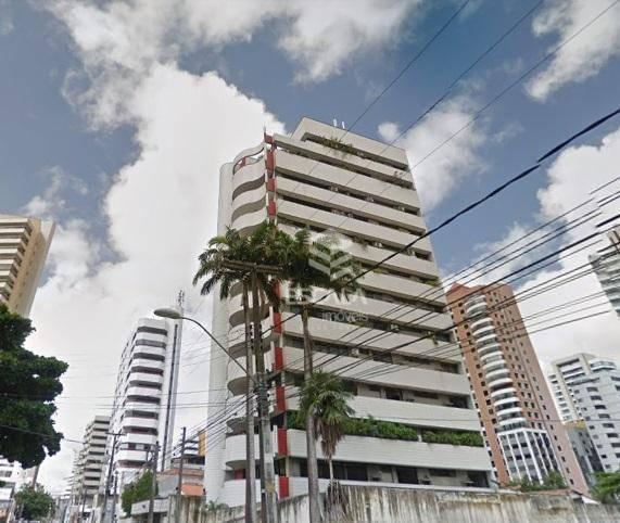 Apartamento com 4 quartos à venda, 243 m², gabinete, 3 vagas, aceita imovel - Meireles - Fortaleza/CE