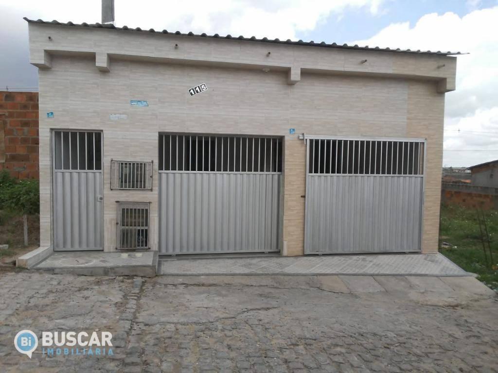 Casa com 2 dormitórios à venda, 98 m² por R$ 130.000,00 - Pedra do Descanso - Feira de Santana/BA