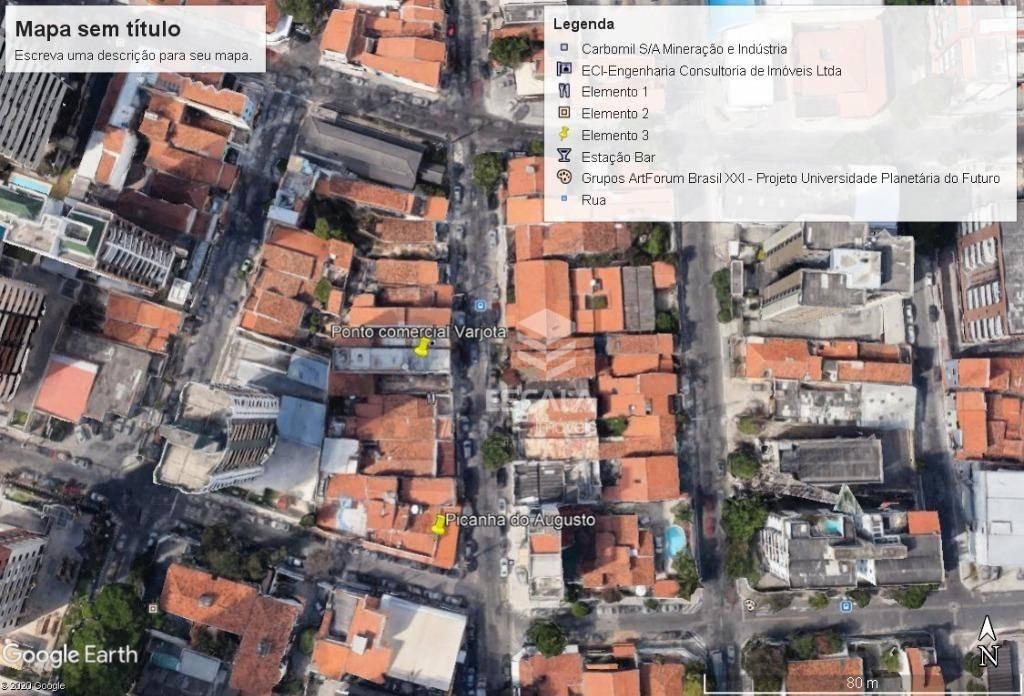 Ponto à venda, 468 m² por R$ 800.000,00 - Varjota - Fortaleza/CE