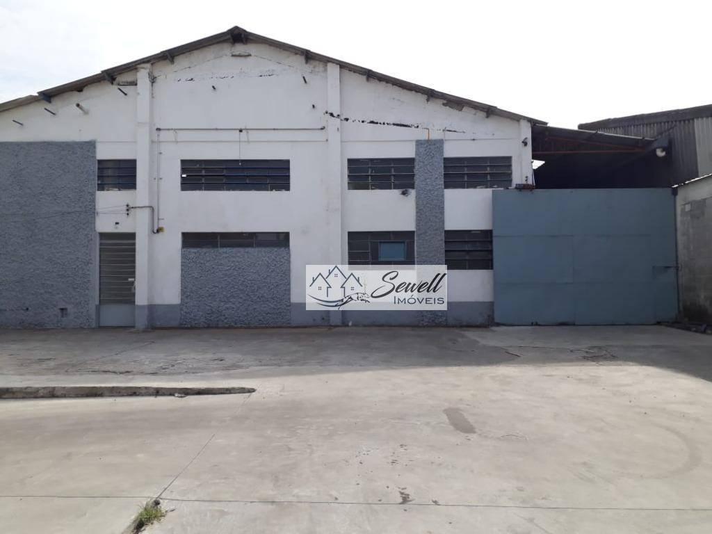 Galpão industrial para locação, Jardim São Judas Tadeu, Diadema.