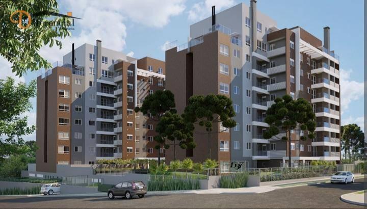 Apartamento com 3 dormitórios à venda, 104 m² por R$ 747.342,66 - Ecoville - Curitiba/PR
