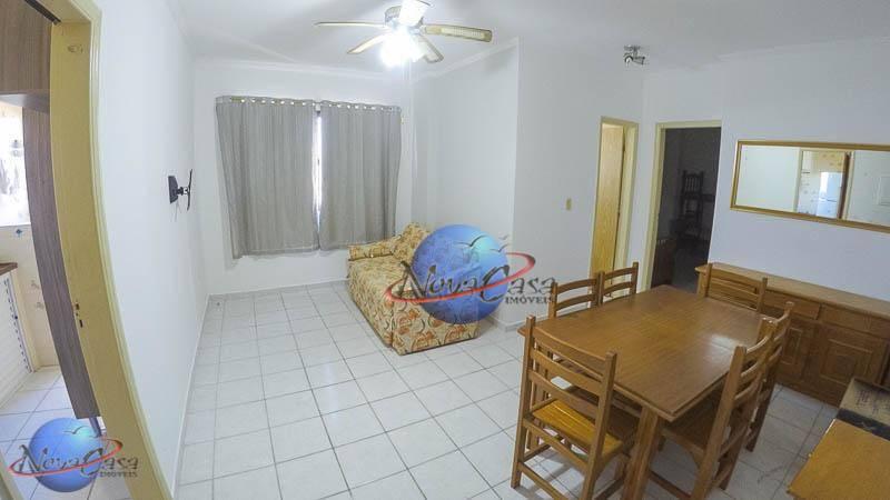 Apartamento com 1 dormitório, 55 m² - venda por R$ 185.000 ou aluguel por R$ 1.200/mês - Vila Guilhermina - Praia Grande/SP