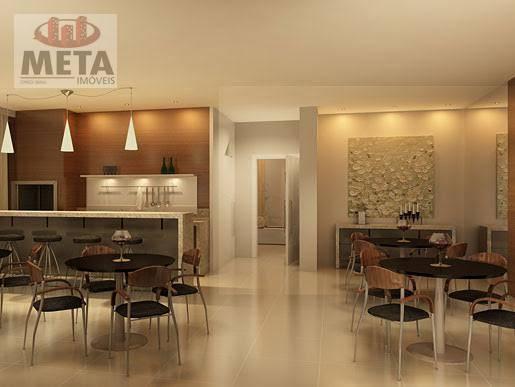 Apartamento com 3 Dormitórios à venda, 98 m² por R$ 698.866,96