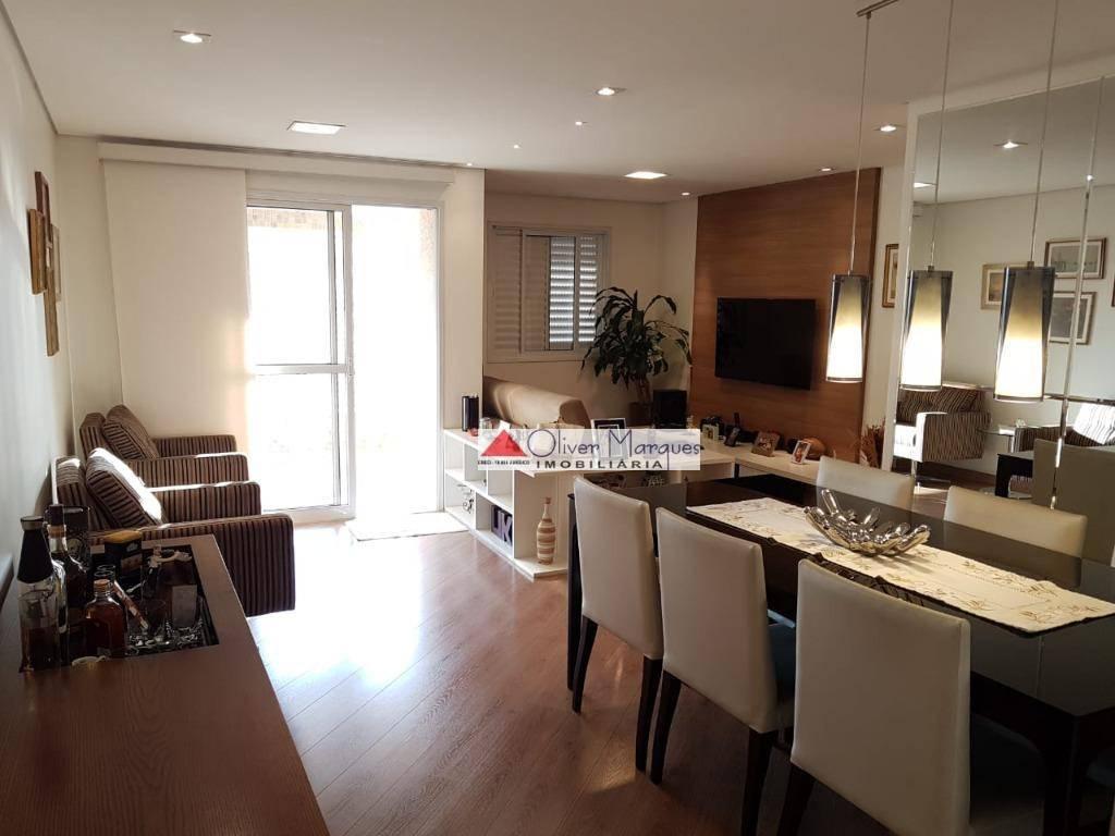 Apartamento com 2 dormitórios à venda, 75 m² por R$ 562.000 - Centro - Osasco/SP
