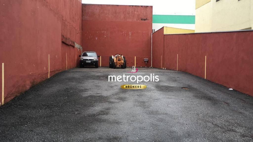 Terreno à venda, 216 m² por R$ 2.160.000 - Osvaldo Cruz - São Caetano do Sul/SP