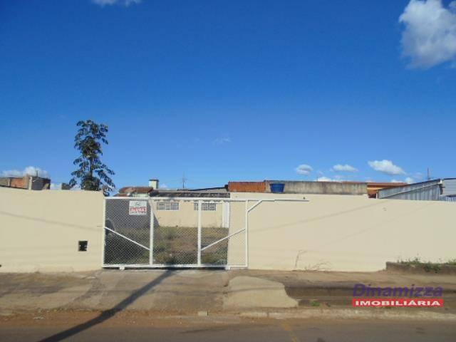 Galpão comercial para venda e locação, Jardim Elza Amuí I, Uberaba - GA0083.