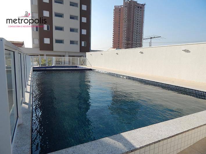 Apartamento à venda, 60 m² por R$ 396.000,00 - Campestre - Santo André/SP