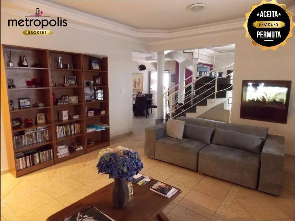 Sobrado à venda, 280 m² por R$ 1.475.000,00 - Jardim São Caetano - São Caetano do Sul/SP
