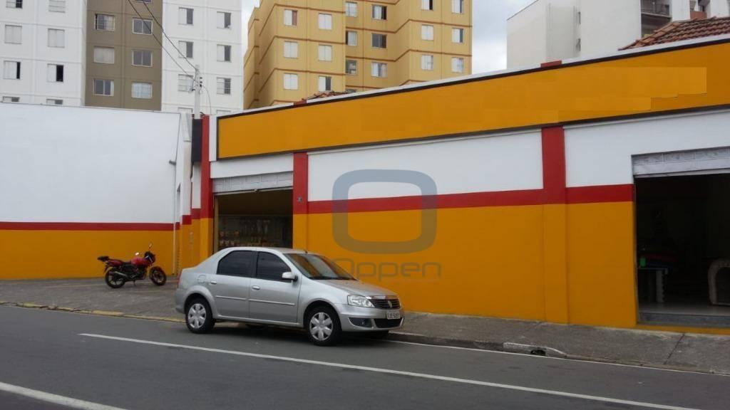 Loja comercial para locação, Jardim Brasil, Campinas.