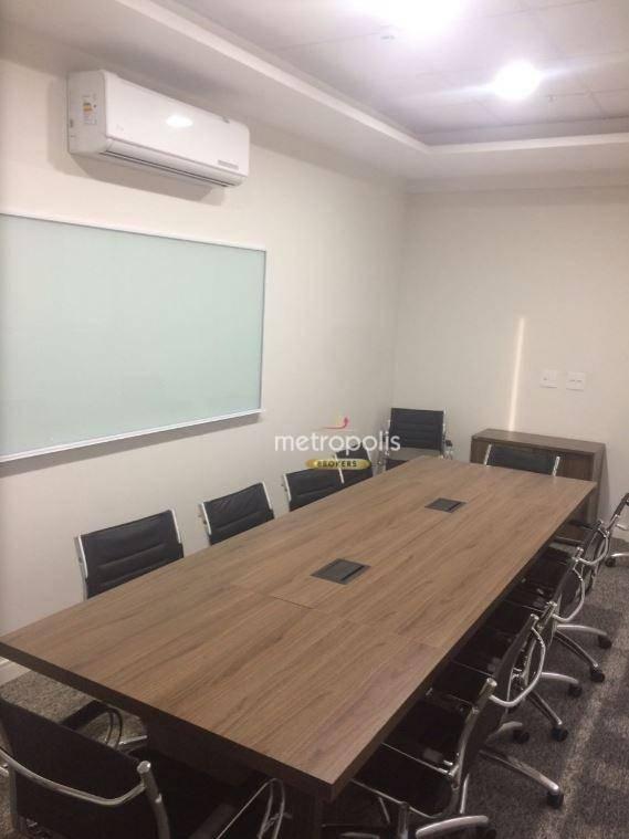 Sala, 30 m² - venda por R$ 245.000,00 ou aluguel por R$ 1.100,00/mês - Vila Bastos - Santo André/SP