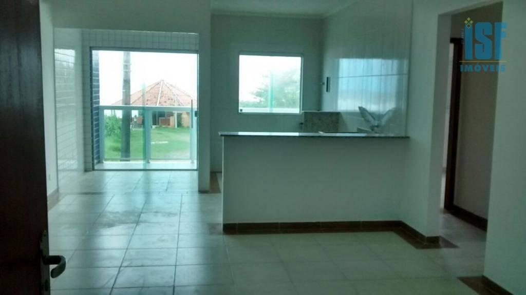 Apartamento residencial à venda, Jardim Iberá, Itanhaém.
