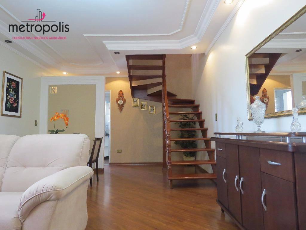 Cobertura à venda, 169 m² por R$ 620.000,00 - Santa Maria - São Caetano do Sul/SP