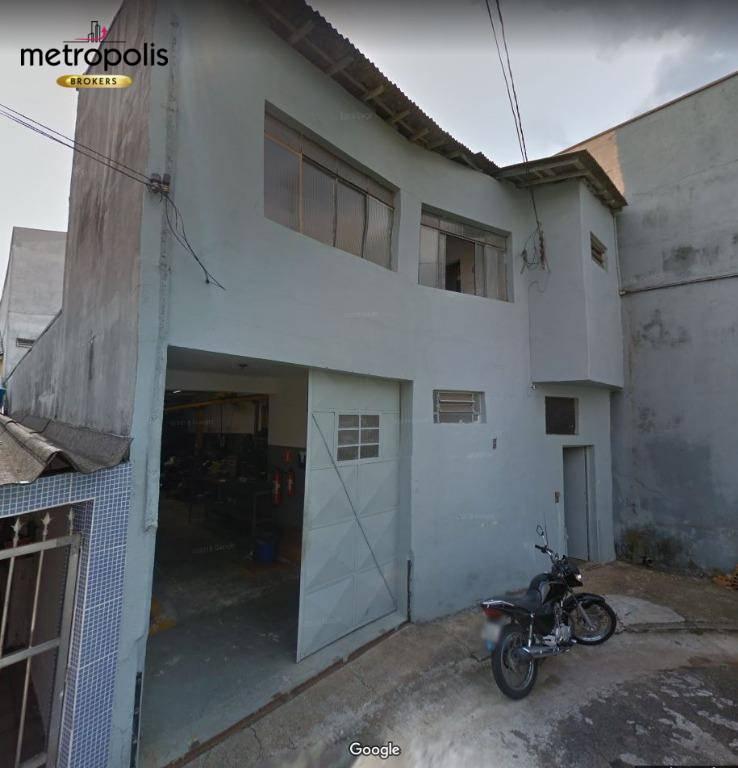 Galpão à venda, 182 m² por R$ 700.000,00 - Santo Antônio - São Caetano do Sul/SP