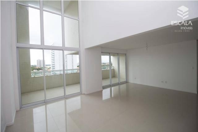 Apartamento com 3 quartos à venda, 164 m², novo, área de lazer, 3 vagas, financia - Luciano Cavalcante - Fortaleza/CE