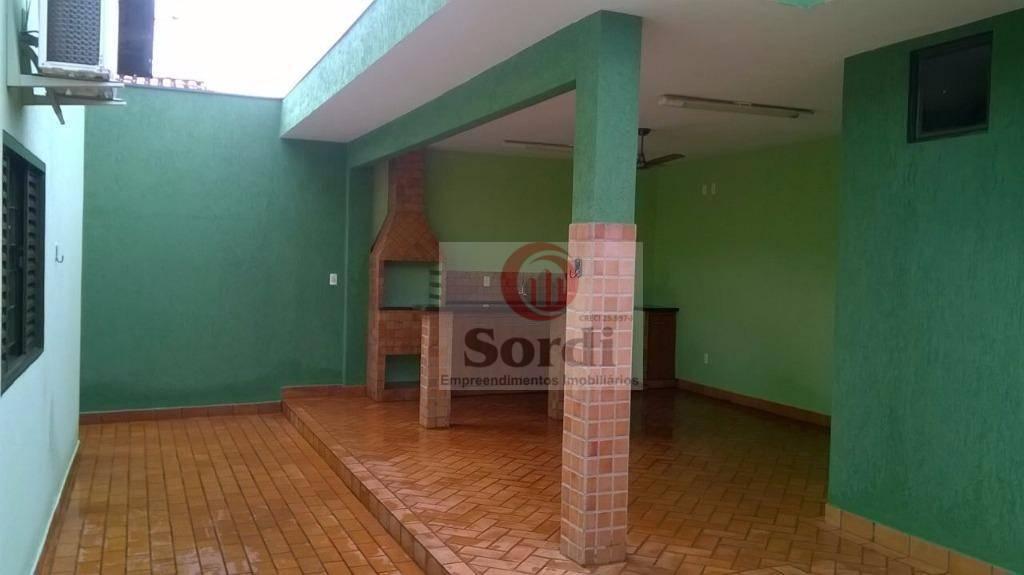 Casa residencial à venda, Jardim Florestan Fernandes, Ribeirão Preto.