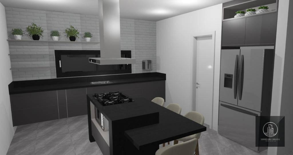 Casa com 3 dormitórios à venda, 220 m² por R$ 1.300.000 - Vossoroca - Votorantim/SP