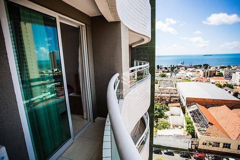 Apartamento com 1 dormitório para alugar, 46 m² por R$ 150,00/dia - Praia de Iracema - Fortaleza/CE