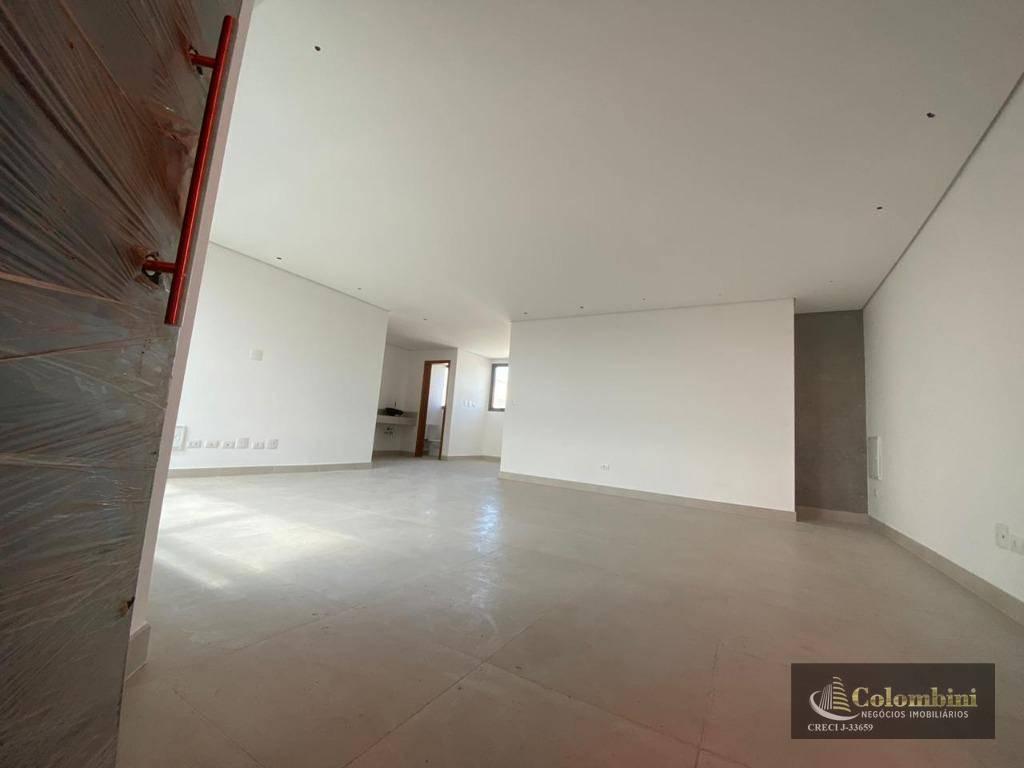 Apartamento com 3 dormitórios à venda, 120 m² - Campestre - Santo André/SP