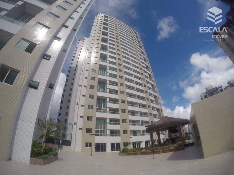 Apartamento Duplex com 3 quartos à venda, 100 m², área de lazer, financia - Cocó - Aquiraz/CE