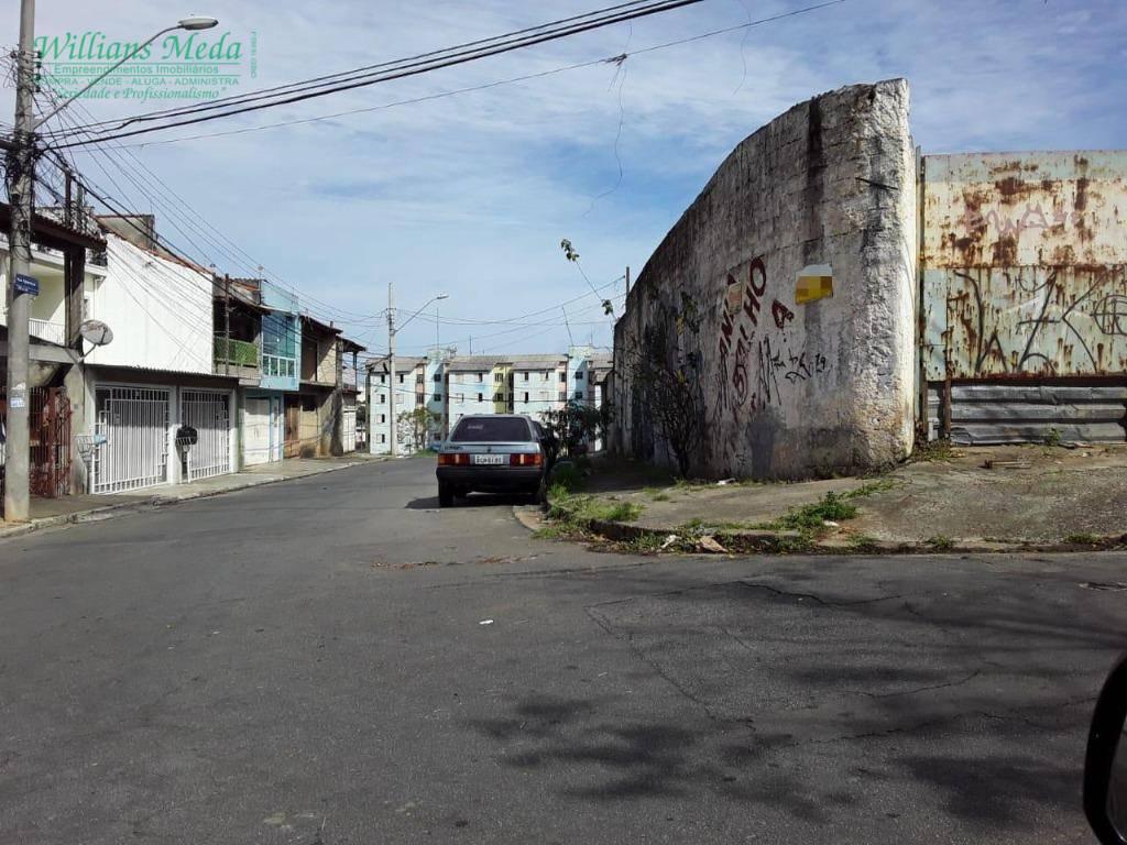 Terreno à venda, 690 m² por R$ 1.300.000 - Jardim Santa Cecília - Guarulhos/SP