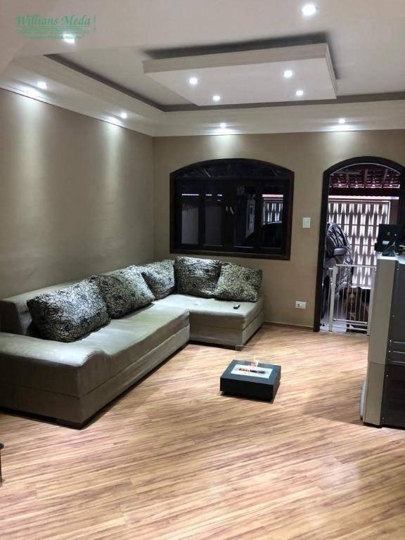 Sobrado com 2 dormitórios à venda, 70 m² por R$ 255.000,00 - Jardim Guilhermino - Guarulhos/SP
