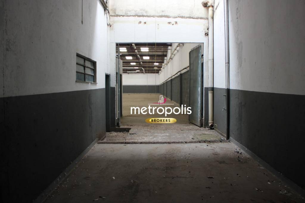 Galpão para alugar, 1410 m² por R$ 28.000/mês - Fundação - São Caetano do Sul/SP