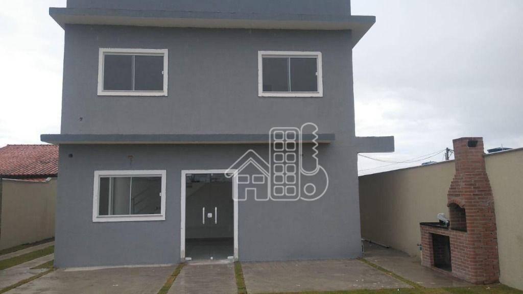 Casa com 2 dormitórios à venda, 68 m² por R$ 260.000,00 - Itaupuaçu - Maricá/RJ