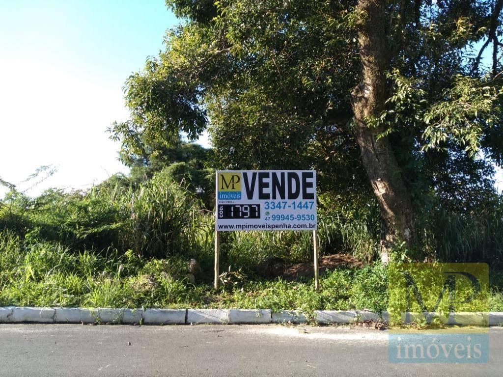 Terreno à venda, 1.746 m² por R$ 1.200.000 - Praia de Armação - Penha/SC