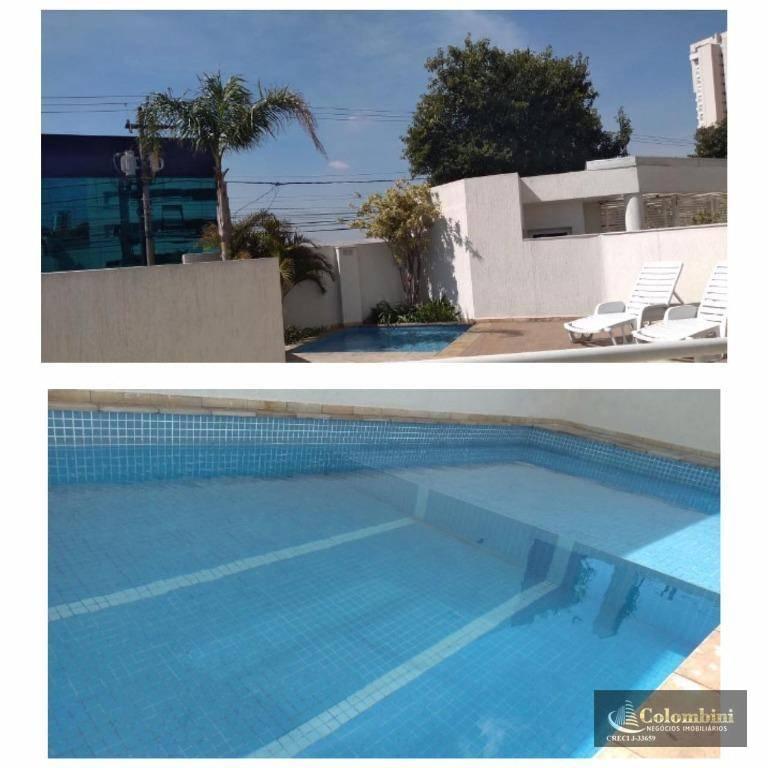 Apartamento com 3 dormitórios à venda, 92 m² - Barcelona - São Caetano do Sul/SP