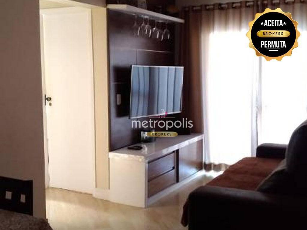 Apartamento com 2 dormitórios à venda, 67 m² por R$ 300.000 - Taboão - São Bernardo do Campo/SP