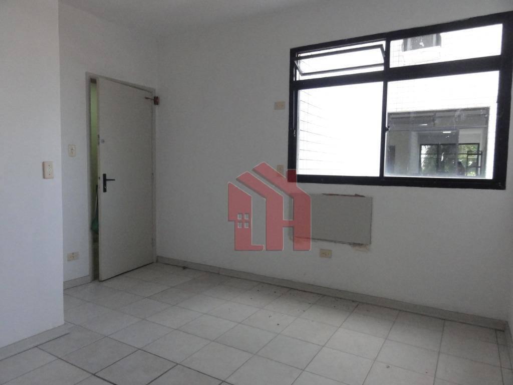 Sala, 41 m² - venda por R$ 150.000,00 ou aluguel por R$ 1.800,00/mês - Vila Matias - Santos/SP