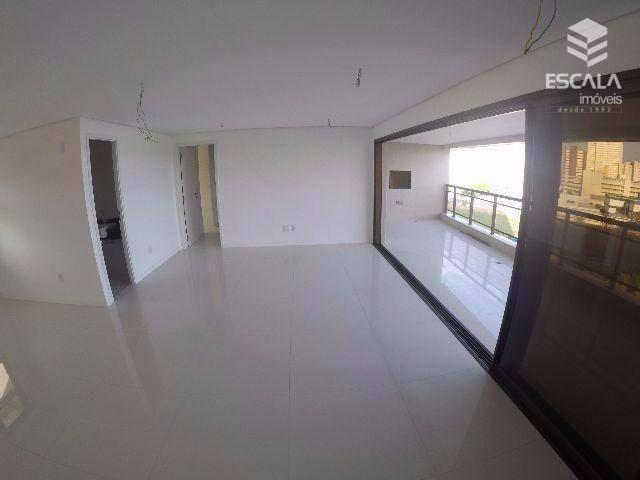 Apartamento com 4 quartos à vneda, 209 m², novo, área de lazer, 4 vagas, financia - Guararapes - Fortaleza/CE