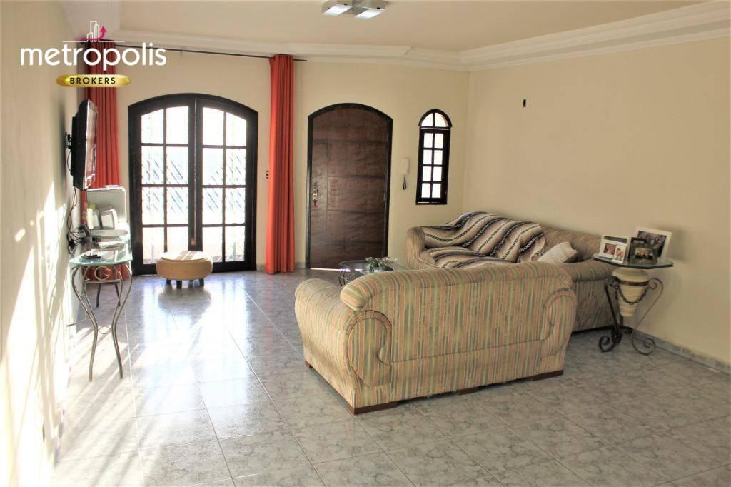 Sobrado à venda, 283 m² por R$ 830.000,00 - Campestre - Santo André/SP