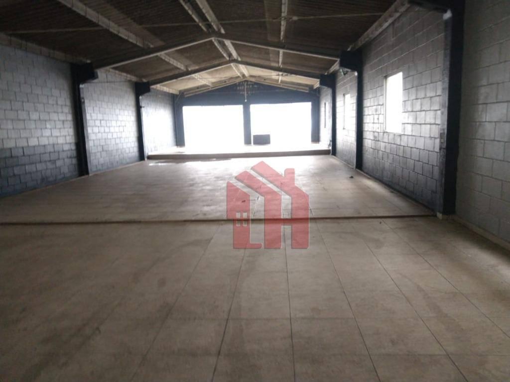 Galpão para alugar, 280 m² por R$ 5.400,00/mês - Vila São Jorge - São Vicente/SP