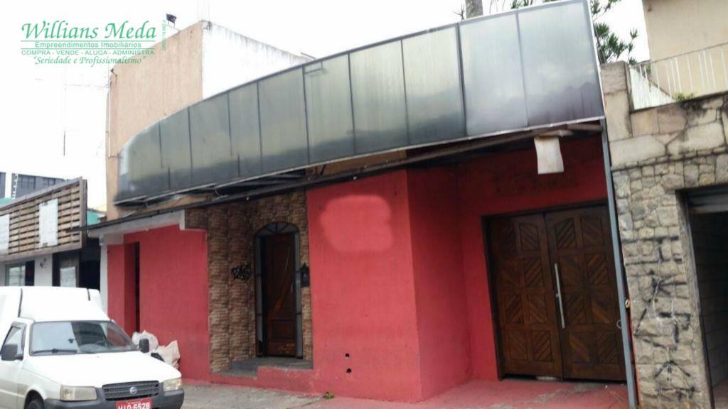 Casa comercial para venda e locação, Centro, Guarulhos - CA0