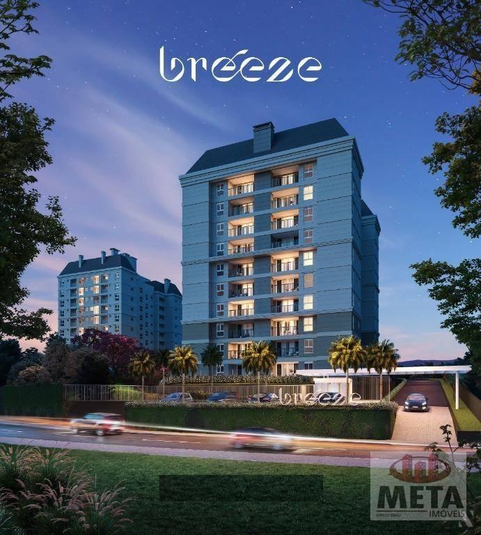 Apartamento com 3 Dormitórios à venda, 70 m² por R$ 377.712,00