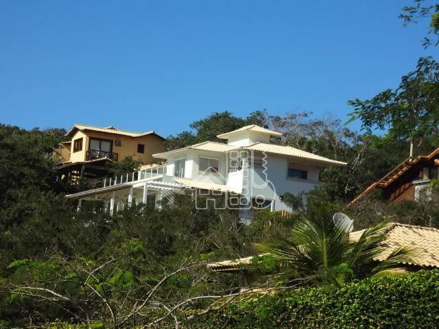 Casa com 4 dormitórios à venda, 361 m² por R$ 3.000.000,00 - Marina - Armação dos Búzios/RJ