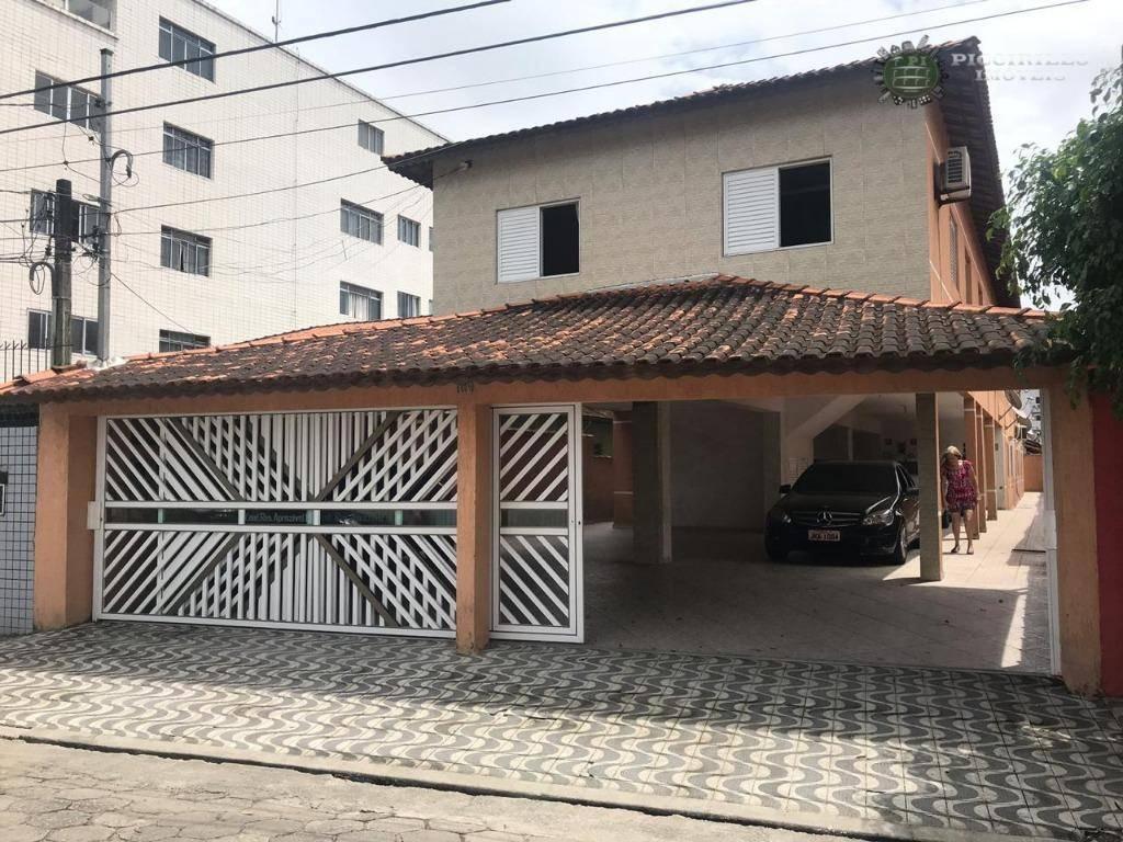 Sobrado 2 dormitórios para alugar, R$ 1.200/mês, Aviação, Praia Grande/SP Conte sempre conosco!
