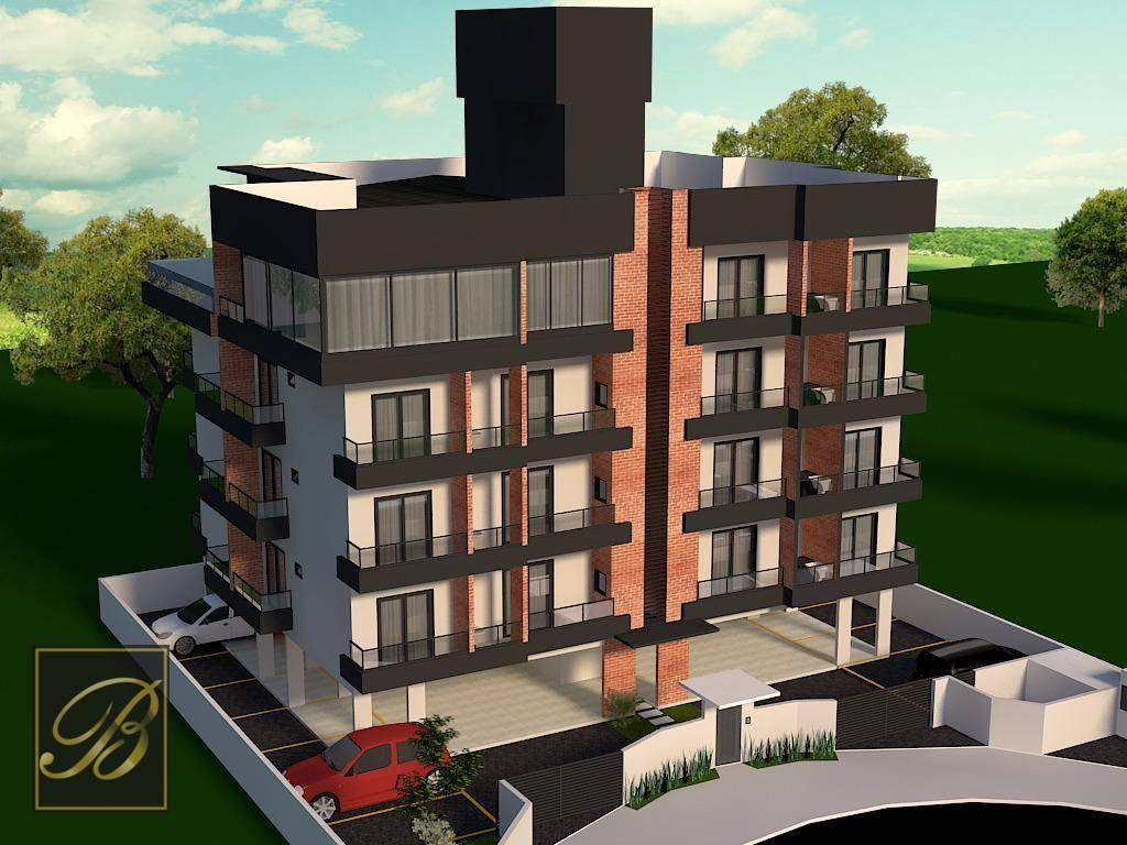 Flat com 1 dormitório à venda por R$ 189.000 - Glória - Joinville/SC