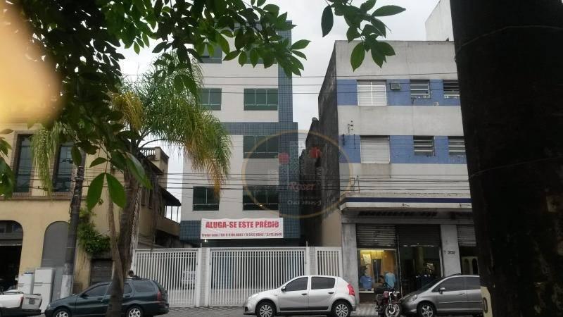 Prédio para alugar, 1000 m² por R$ 19.000,00/mês - Paquetá - Santos/SP