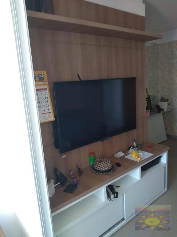 Apartamento com 2 dormitórios à venda, 65 m² por R$ 375.000,00 - Praia de Itaparica - Vila Velha/ES