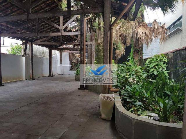 Casa para alugar, 500 m² por R$ 15.000/mês - Gonzaga - Santos/SP