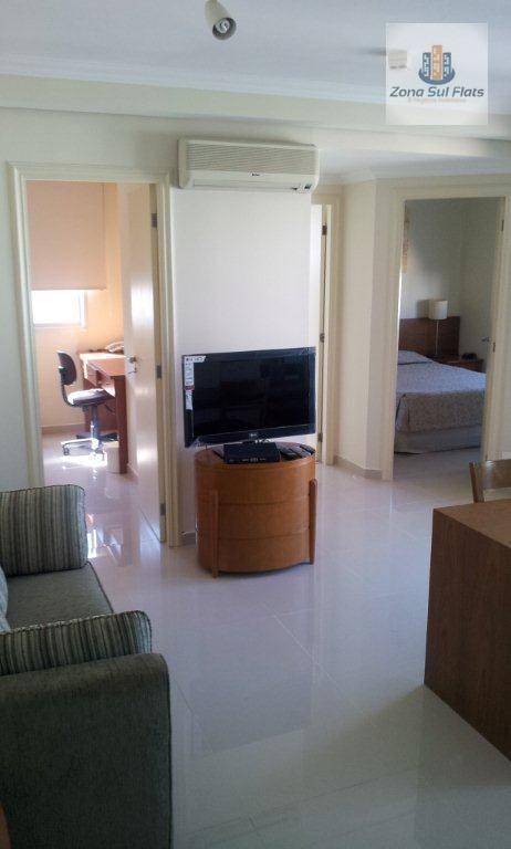 Excelente Flat Para Locação Na Consolação I 2 Dormitórios I 1 Banheiro Social I 1 Vaga I 48m²
