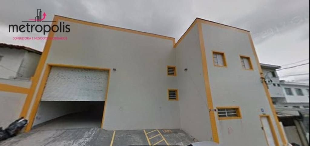 Galpão comercial para locação, Campestre, Santo André.