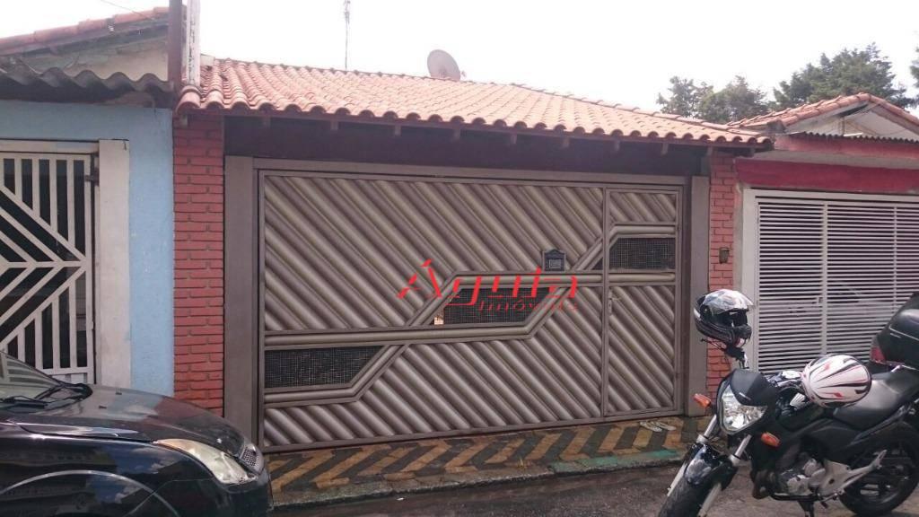 Casa residencial à venda, Parque Novo Oratório, Santo André.