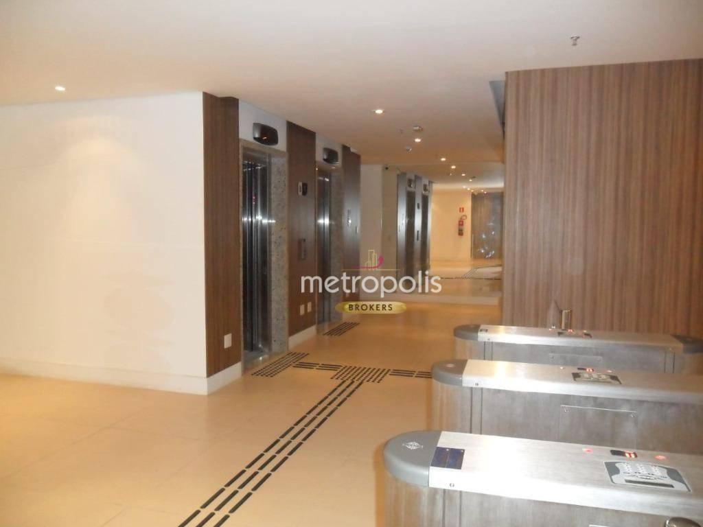 Andar Corporativo para alugar, 554 m², 12 salas, por R$ 30.000/mês - Centro - Santos/SP